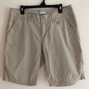 Columbia Bermuda shorts. Size 14